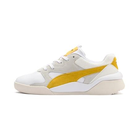 Aeon Heritage Women's Sneakers, Puma White-Sulphur, small