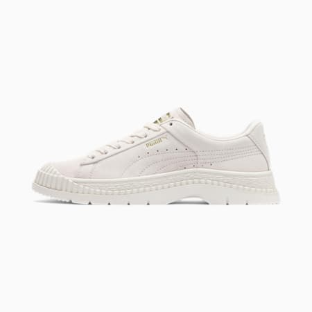 Utility Suede Women's Sneakers, Pastel Parchment, small
