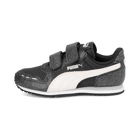 Cabana Racer Glitz AC Shoes PS, Puma Black-Rosewater, small