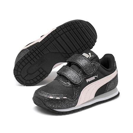 Cabana Racer Glitz AC Shoes INF, Puma Black-Rosewater, small