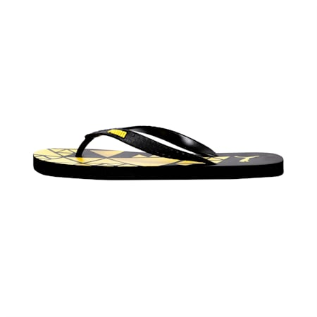 Gear V3 IDP Flip Flops, Puma Black-Blazing Yellow, small-IND