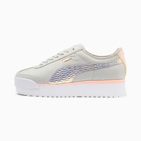 Roma Amor Metallic Women's Sneakers, Glacier Gray-Puma Silver, small
