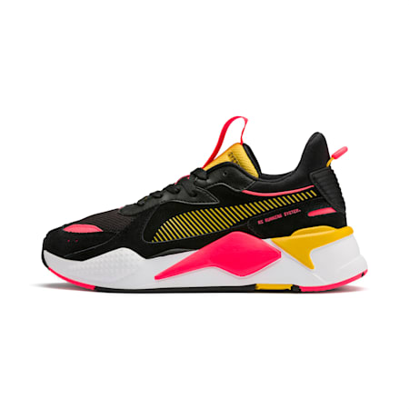 RS-X Reinvent Women's Trainers, Puma Black-Sulphur, small-SEA