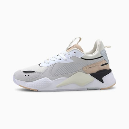 RS-X Reinvent Women's Sneakers, Puma White-Natural Vachetta, small