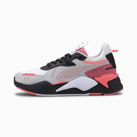 RS-X reinventa los zapatos deportivos para mujer, Puma White-Bubblegum, pequeño