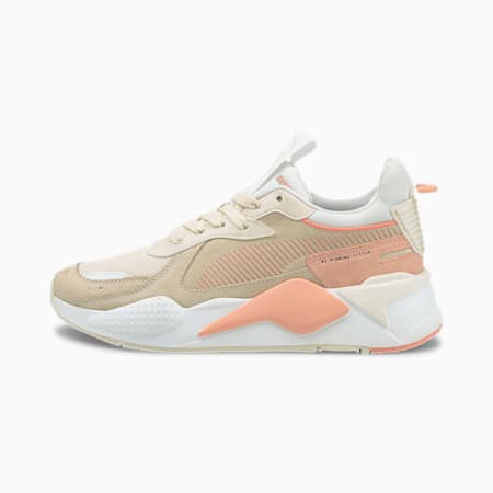 RS-X Reinvent Women's Trainers, Eggnog-Apricot Blush, small