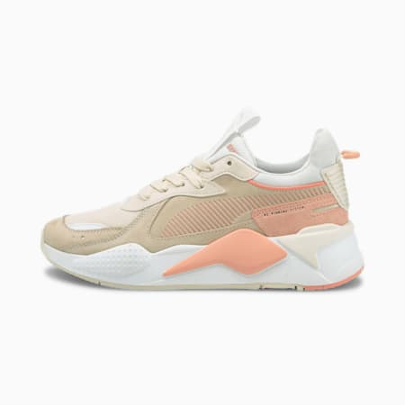 RS-X Reinvent Women's Sneakers, Eggnog-Apricot Blush, small-GBR