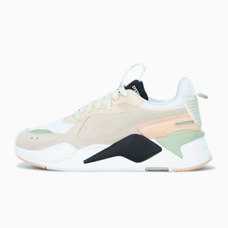 RS-X Reinvent Women's Sneakers, Whisper White- Sand-Black, small-SEA