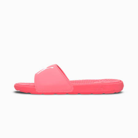 Cool Cat Women's Slides, Sun Kissed Coral-Puma White, small-IND
