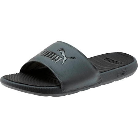 Cool Cat Men's Slides, CASTLEROCK-Puma Black, small