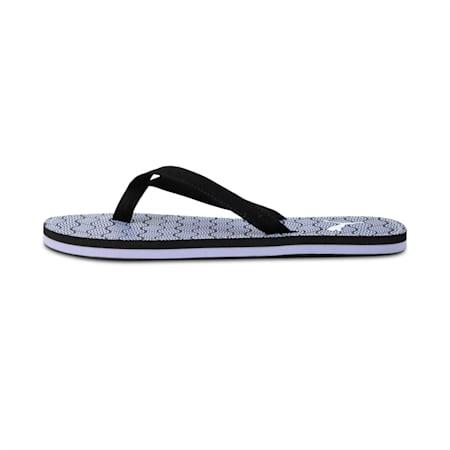Vitriol IDP Flip Flops, Black-Sweet Lavender-white, small-IND