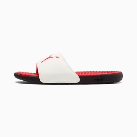 Cool Cat Sport Slides JR, High Risk Red-PWhite-PBlack, small