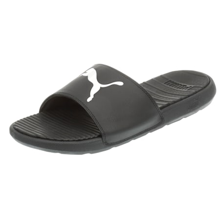 Cool Cat Sport Men's Slides, Puma Black-Puma White, small