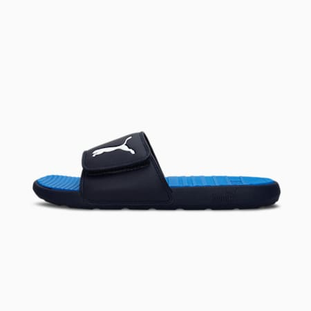Cool Cat Sport Men's Slides, Peacoat-Palace Blue-Puma White, small-IND