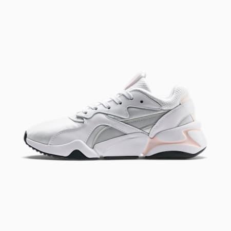 Nova Gleam Damen Sneaker, Puma White-Pearl-Gray Violet, small