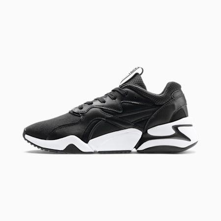 Nova Gleam sportschoenen voor dames, Puma Black-Puma Black, small