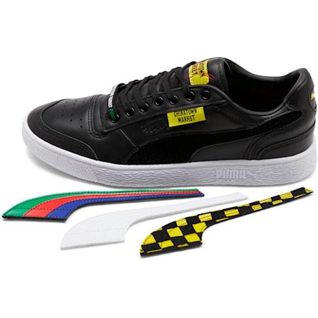 PUMA x CHINATOWN MARKET Ralph Sampson Lo Sneakers, Puma Black, small
