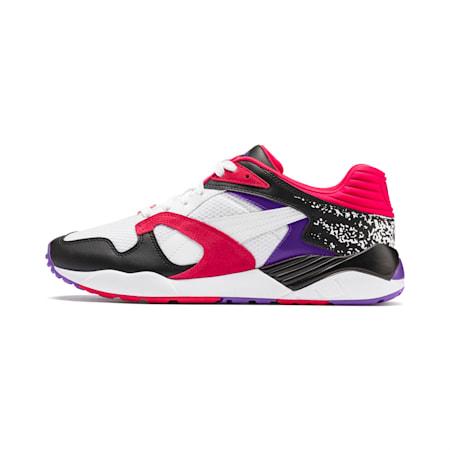 Trinomic XS-850 Sneakers, Puma White-Purple Glimmer, small