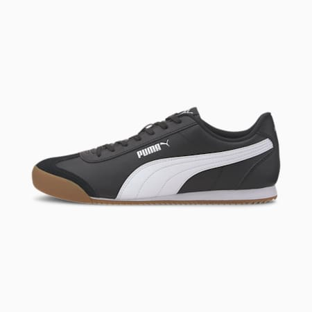 PUMA Turino Men's Sneakers, Puma Black-Puma White-Gum, small