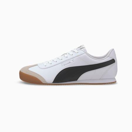 PUMA Turino Men's Sneakers, Puma White-Puma Black-Gum, small
