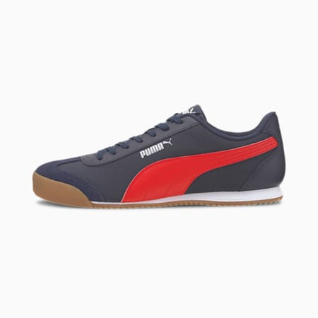 Turino NL Shoes, Peacoat-High Risk Red-Gum, small-IND