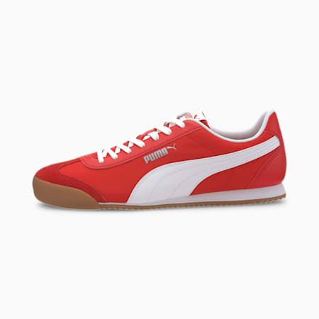 Turino NL Shoes, High Risk Red-Puma White-Gum, small-IND