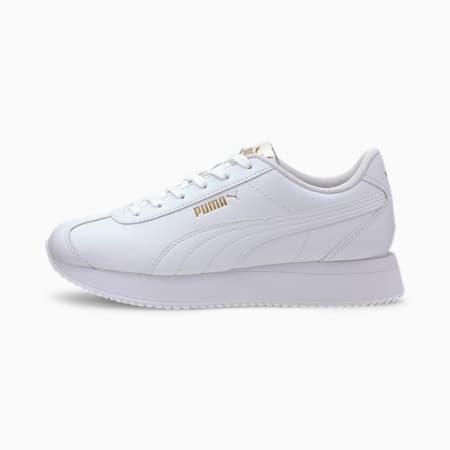 Zapatos deportivosTurinopara mujer, Puma White-Puma White, pequeño