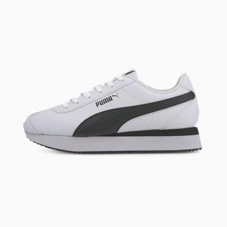 Turino Stacked Women's Sneakers, Puma White-Puma Black, small