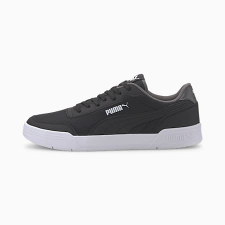 Caracal Style Men's Sneakers, P.Black-P.Black-CASTLEROCK, small