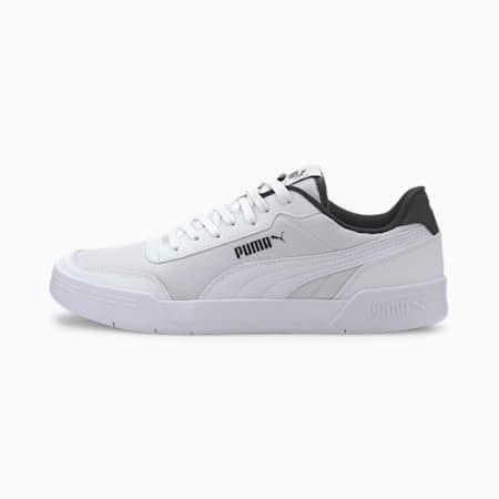 Caracal Style Men's Sneakers, P.White-P.White-Puma Black, small