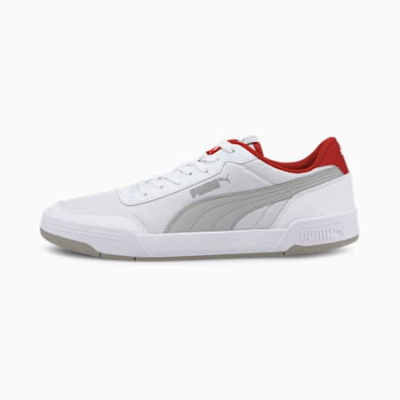 Caracal Style Unisex Sneakers, Puma White-Gray Violet, small-IND