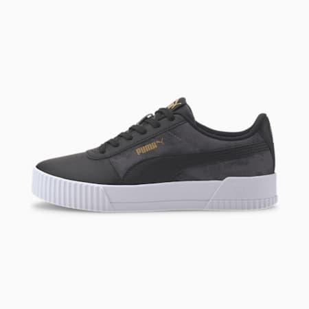 Carina Tie-Dye Sneakers, CASTLEROCK-Puma Black, small-IND