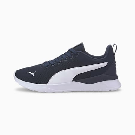 Anzarun Lite Unisex Sneakers, Peacoat-Puma White, small-IND