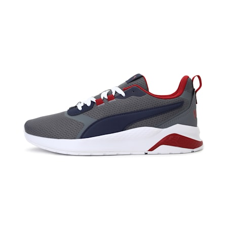 Anzarun FS Unisex Shoes, Steel Gray-Peacoat-Red Dahlia, small-IND