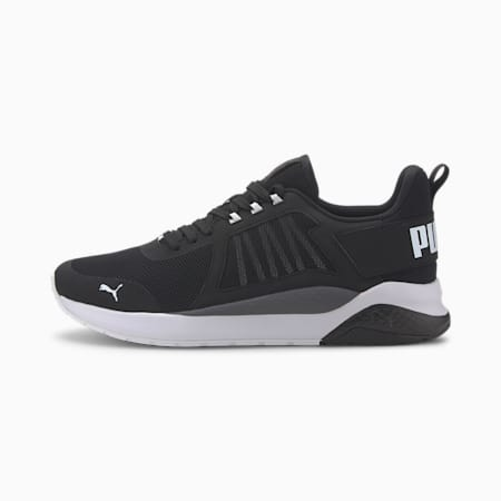 Anzarun Trainers, Puma Black-Puma White, small