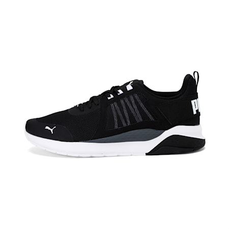 Anzarun Unisex Running Shoe, Puma Black-Puma White, small-IND