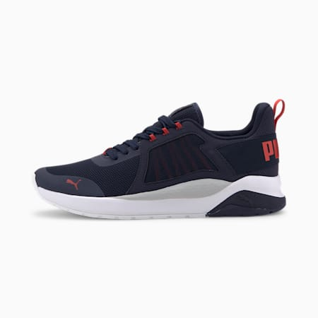Anzarun Trainers, Peacoat-High Risk Red, small