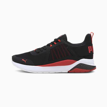 Anzarun Unisex Sneakers, Puma Black-High Risk Red, small-IND