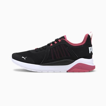 Anzarun Trainers, Black-Glowing Pink-White, small