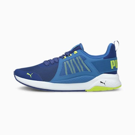 Anzarun Unisex Sneakers, Blue-Star Sapphire-Limepunch, small-IND
