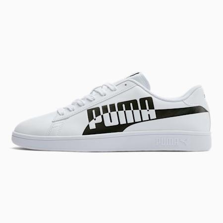 PUMA Smash v2 Max Sneakers, Puma White-Puma Black, small