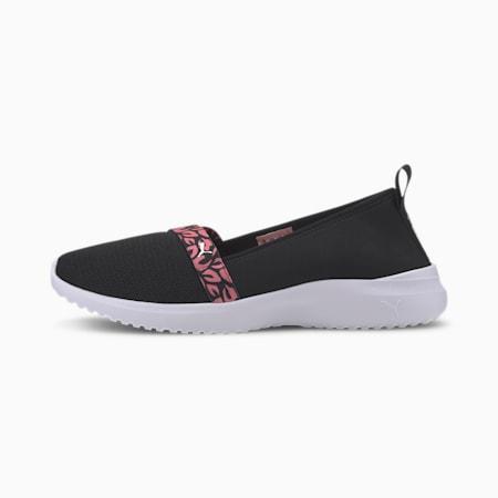 Adelina Blossom Women's Ballet Shoes, Black-Bubblegum-Silver-White, small