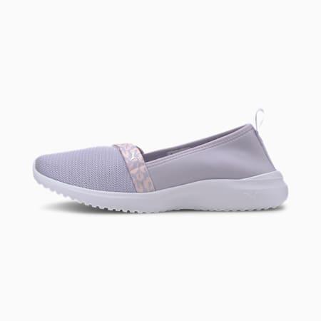 Adelina Blossom Women's Ballet Shoes, PurpleHeat-Rosewter-Slvr-Wht, small