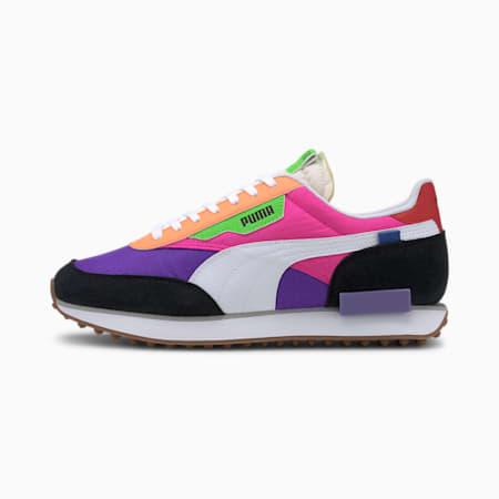 Future Rider Play On Trainers, Luminous Purple-Fluo Pink, small