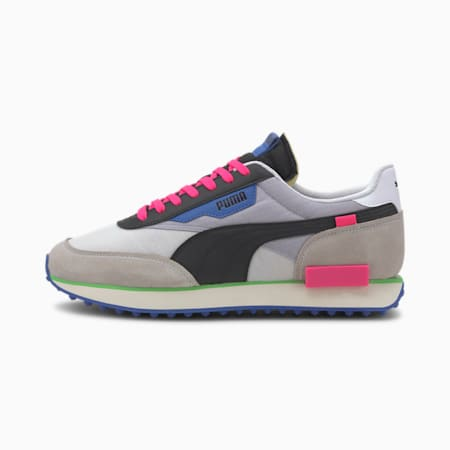 Future Rider Play On Sneakers, P White-Gray Violet-P Black, small