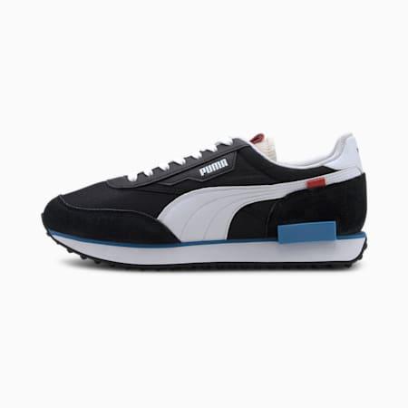 퓨처 라이더 플레이 온/FUTURE RIDER PLAY ON, Puma Black-Puma White-Ibiza Blue, small-KOR