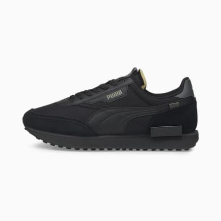 Future Rider Play On Sneakers, Puma Black-Puma Black, small-GBR