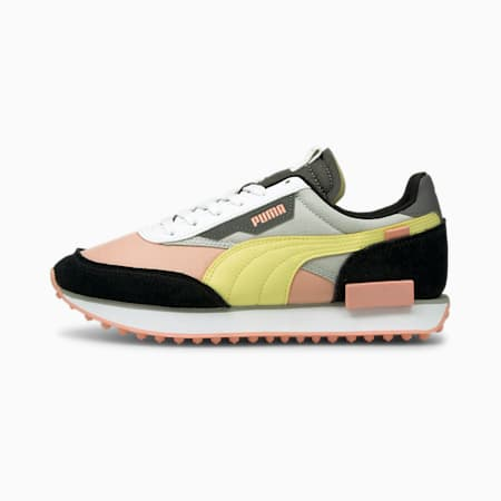 Future Rider Play On Unisex Sneakers, Apricot Blush-Gray Violet, small-IND