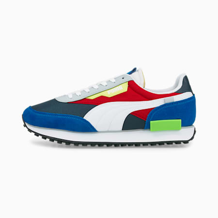 Future Rider Play On Unisex Sneakers, Spellbound-Puma White-Ultra Blue, small-IND