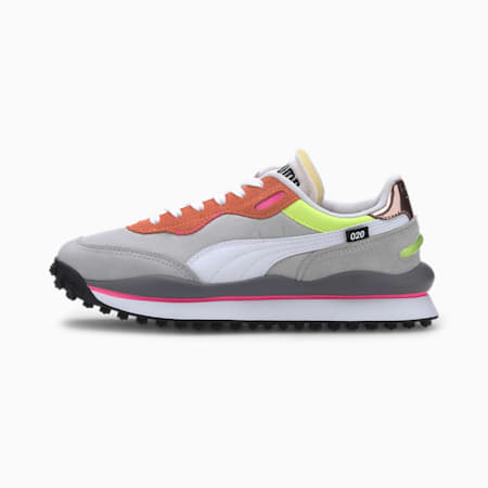Style Rider Play On Trainers, High Rise-Fizzy Orange, small